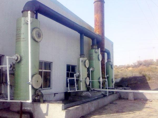 玻璃鋼鍋爐脫硫塔運行維護